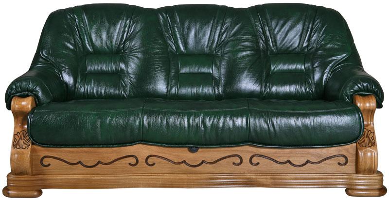 Кожаный диван распродажа акция